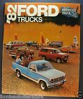 1982 Ford Trucks Brochure F-Series Pickup 4x4 Bronco Courier Econoline Van 82