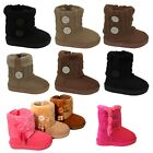 New infant toddler girls boots baby kids babies youth australian booties shoes