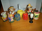 Lot of 10 Salt and Pepper Shakers vintage and modern some sets