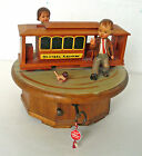 ANRI THORENS Hand Carved Swiss Wood Music Box I LOST MY HEART IN SAN FRANCISCO