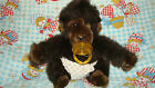 VINTAGE PLUSH MONKEY DAKIN & COMPANY 1983 BABY APE GORILLA STUFFED SOOTHER TOY