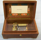 REUGE WOODEN MUSIC BOX 1/36 SAINTE CROIX (Swiss) ~PLAY'S ~