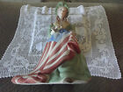 ISPANKY- Betsy Ross - PORCELAIN SCULPTURE FIGURINE STARS STRIPES