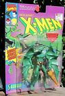 Vintage 1993 X Men Marvel Comics Figure Evil Mutant Sauron W Club ToyBiz NIB
