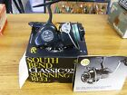 South Bend Classic 925 vintage fishing reel Un-fished with box.