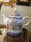 James Sadler Thameside Teapot - London Heritage Collection - Fine Bone China