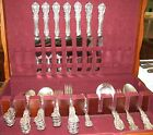 47 Pc Sterling 1907 Reed and Barton FRANCIS I Old Mark Silverware Set No Mono