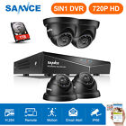 SANNCE 8 Channel 960H DVR 800TVL Outdoor Surveillance Security Camera System 1TB