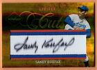 2005 LEAF LIMITED CUTS SANDY KOUFAX AUTO LC-4 NUMBERED 9 30 FREE SHIPPING!!!