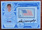 Dale Murphy 2005 Leaf Century Stamps Signature Certified Auto #59 100 USA Flag