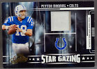 Playoff Absolute Memorabilia Peyton Manning JERSEY PATCH #47 150 COLTS BRONCOS
