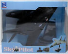 NEW RAY 2010 SKY PILOT STEALTH F117 NIGHTHAWK DIE CAST AIRPLANE + STAND MIP RARE
