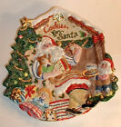FITZ & FLOYD SANTA'S MAGIC WORKSHOP COOKIES FOR SANTA  RETIRED NEW