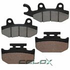 Front & Rear Brake Pads for Kawasaki KX125 1989 1990 1991 1992 1993 / KX200 1989