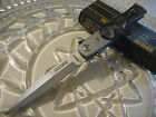 Tac-Force Assisted Open Grey Pearl Milano HD Stiletto Pocket Knife 7 1/4