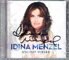 Idina Menzel - Holiday Wishes CD Christmas Signed and Sealed Amazon Exclusive