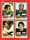 1976 Topps FOOTBALL STARS & SEMI-STARS nr-mt mt card lot