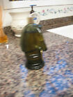 Avon Wild Country After Shave Bottle Horse Head Green Glass Vintage 1970's