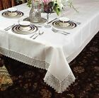 Treasure Lace Tablecloth Oblong / Rectangle