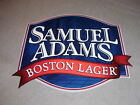 SAMUEL ADAMS BOSTON LAGER METAL BEER SIGN CLASSIC BOSTON BEER COMPANY SIGN RARE