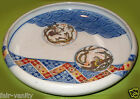 Meiji Period Japanese Porcelain Imari Shallow Bowl or Plate Marked Arita