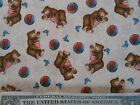 ADVENTURES OF SONNY BEAR by RED ROOSTER FABRICS   3 YARDS TOTAL