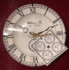 222 Fifth Time Will Tell Appetizer Dessert Plates Set Of 4 Clock Watch