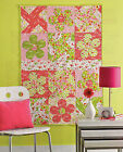 Blossoms In The Breeze Quilt Pattern Pieced/Applique LD
