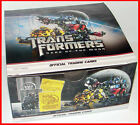 BOX of 48 Sealed PACKS TRANSFORMERS DARK OF THE MOON TRADING CARDS Hasbro rare