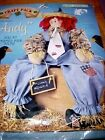 Daisy Kingdom Fabric Panel SCARECROW ANDY Doll Craft Cut & Sew 22