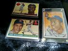 1954 TOPPS BASEBALL CARD LOT HANK AARON 128 TED WILLIAMS 2 JACKIE ROBINSON 50