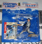 Steve Finley Signed Padres Baseball Starting Lineup Action Figure PSA/DNA COA 97