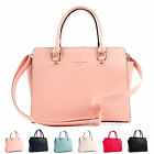 New Women Tote Cross Body Celebrity Style Bag Ladies Purse Faux Leather Hobo Bag