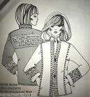 Vtg 1976*Daisy Kingdom Europa Jacket Sewing Pattern*Szs 4 to 22*UCFF