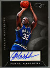 10-11 Panini Elite Black Box Jamal Mashburn AUTO #134 149 2010 2011 MAVERICKS