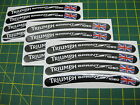 12 Triumph Sprint ST 1050 Wheel Rim Stickers with the Union Flag