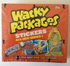 2004 Topps WACKY PACKAGES Ser.1 Stickers - Sealed Box