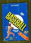 1981 Donruss Baseball Box Right From The Case 1st Print Tough!