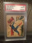 1940 Gum Superman #23 PSA 2 Hurtling to Destruction