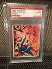 1940 Gum Superman #34 PSA 2 Peril in the Oil Fields