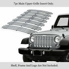 For 2007 2018 Jeep Wrangler JK Only Vertical Billet Grille Insert
