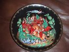 Vintage Russian Legends Collectors Plate Ruslan and Ludmilla from Poem of Alexan