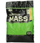 OPTIMUM NUTRITION SERIOUS MASS Gainer Protein Creatine Amino Acid! Banana 12 lbs