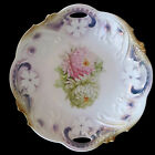 Antique Victorian Era Bavarian Hand Decorated Porcelain Dish