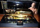 1998 WCW 24k GOLD NITRO-STREETROD GOLDBERG LIMITED-ED 1/4998 BY RACING CHAMPIONS