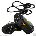 Pair of Anti slip Winter Snow Ice Shoe Boot Cleats Crampon Traction Walkers Grip