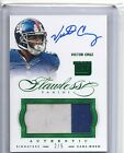 2014 Panini Flawless 2 Colored Patch On-Card Auto Victor Cruz #2 5