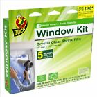 @@ Duck Brand 281504 Indoor 5-Window Shrink Film Kit,62-By-210