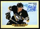 2014-15 OPC Upper Deck Sport Royalty Sidney Crosby Auto 1:27,187 packs RARE!