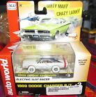 Auto World *CHASE/WHITE LIGHTNING* '69 Dodge Charger R/T Xtraction Slot Racer!!